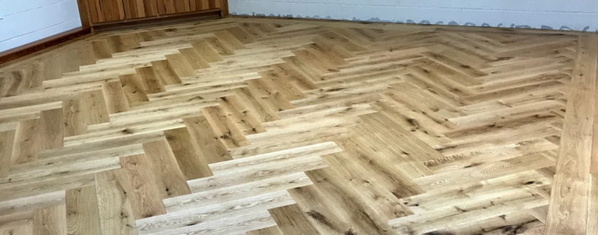 Exotic wood floor image