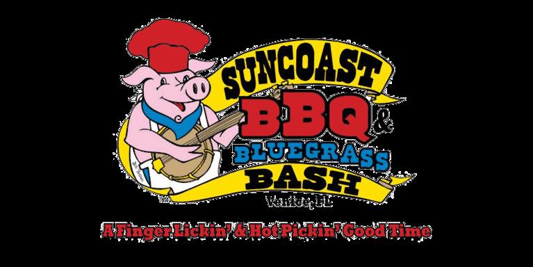 Suncoast BBQ and Bluegrass Bash logo image
