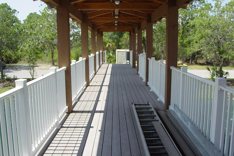 Deck pilings image