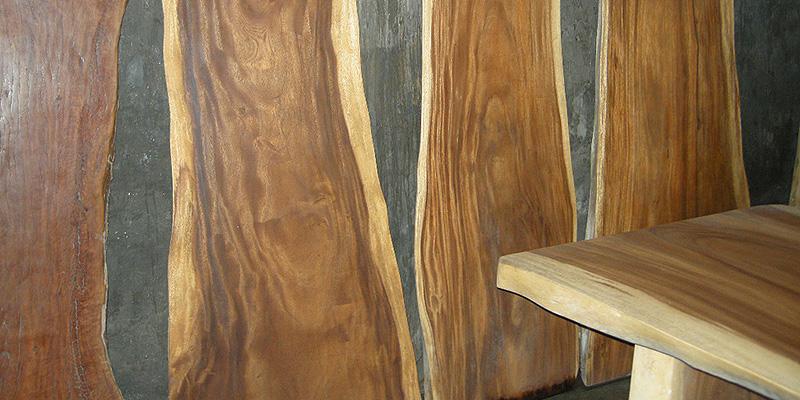 Decorative wood wall image