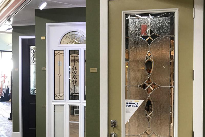 Door display at Kimal showroom