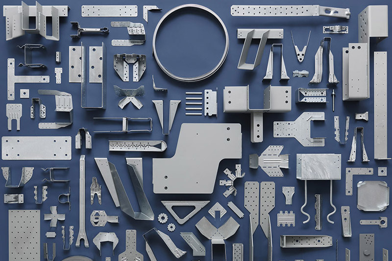 Assorted metal products image