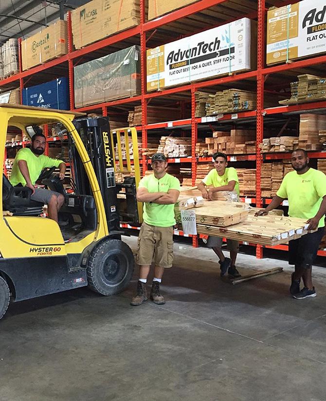 Warehouse team image